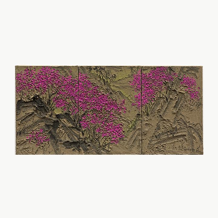 https://www.ganaart.com/wp-content/uploads/2021/04/임옥상-봄봄II2021-Ink-Soil-and-Acrylic-on-Canvas-24.5x33cm-x3AE9.6x13in_24.5x99cm-9.6x39in.jpg